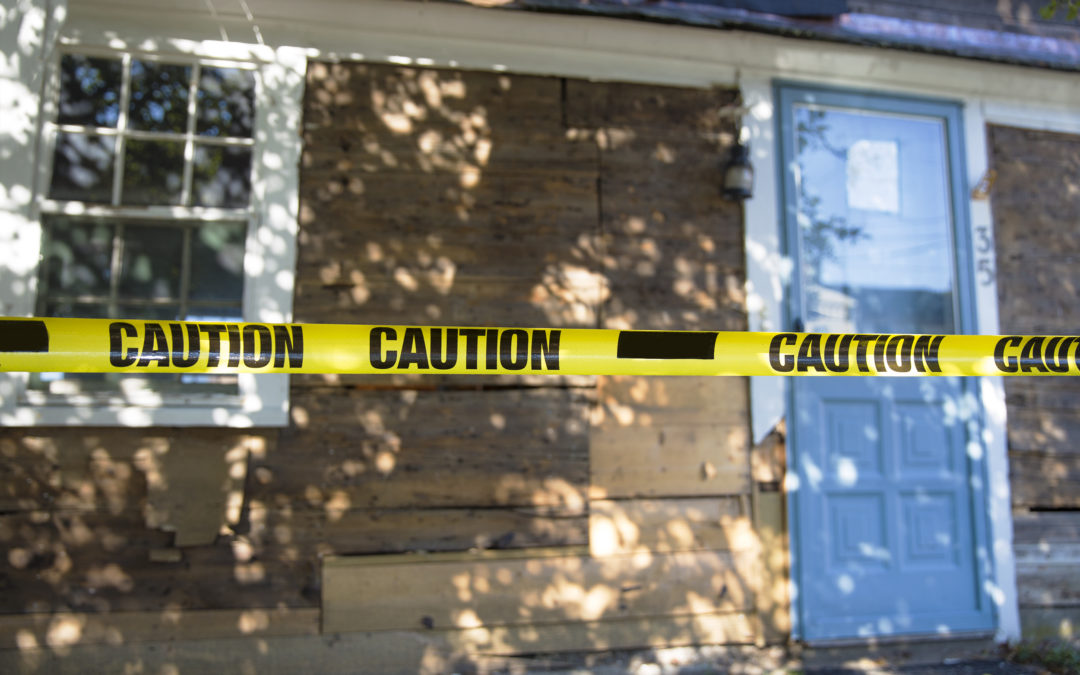 Disclosing a Death in a House